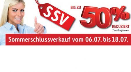 Sommerschlussverkauf vom 06.07. bis 18.07.